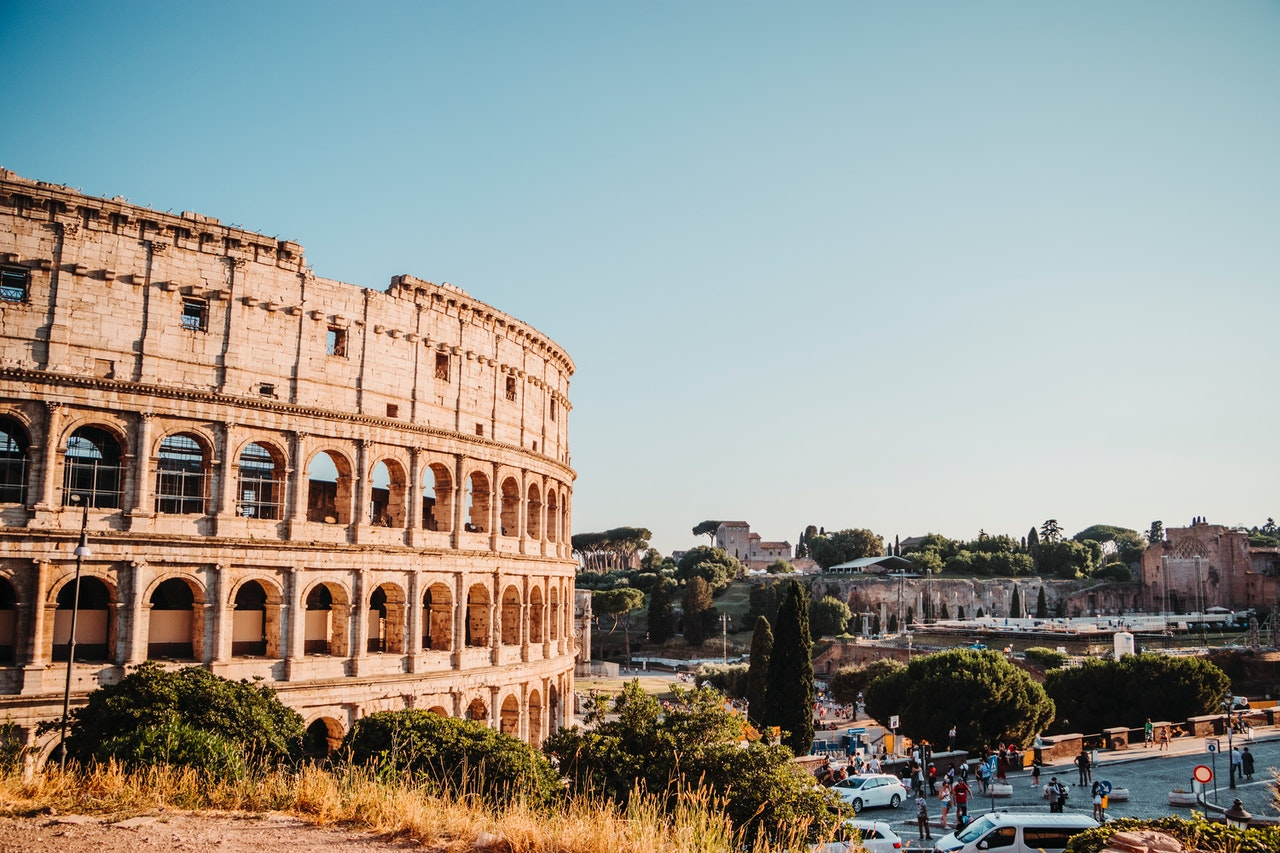 a sunny day in Rome