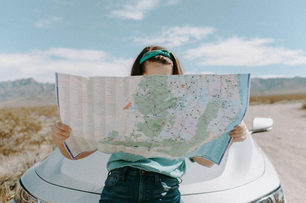 girl travelling